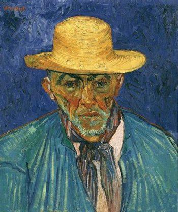 Portrait of Patience Escalier Shepherd in Provence | Vincent Van Gogh | oil painting