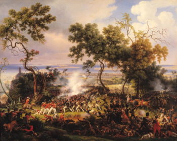 The Battle of Chiclana 5th March 1811 1824 | Louis Lejeune | oil painting
