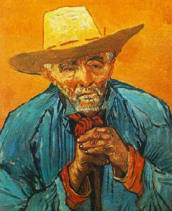Portrait of Patience Escalier | Vincent Van Gogh | oil painting