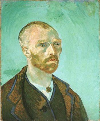 Self-Portrait (Dedicated to Paul Gauguin) | Vincent Van Gogh | oil painting