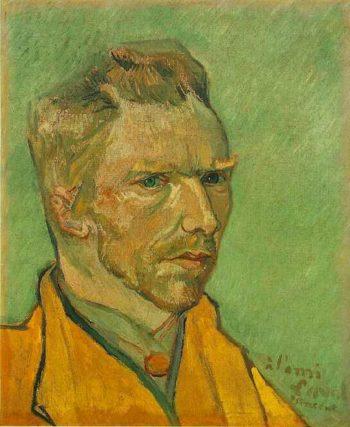 Self-Portrait | Vincent Van Gogh | oil painting