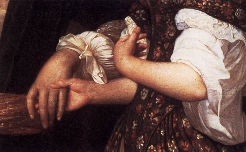 Elegant Couple in an Interior (detail) 1678 | Eglon Van Der Neer | oil painting