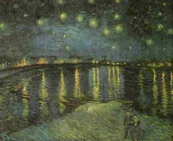Starry Night Over the Rhone | Vincent Van Gogh | oil painting