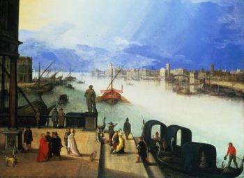 View of Venice | Louis de Caullery | oil painting