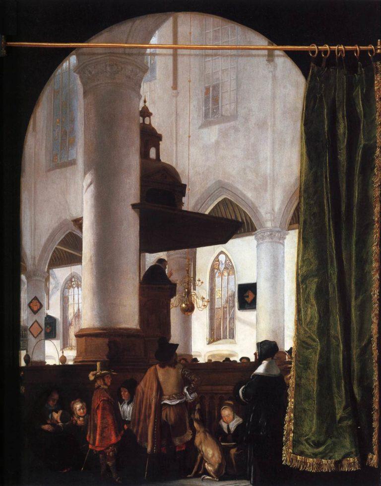 A Sermon in the Oude Kerk