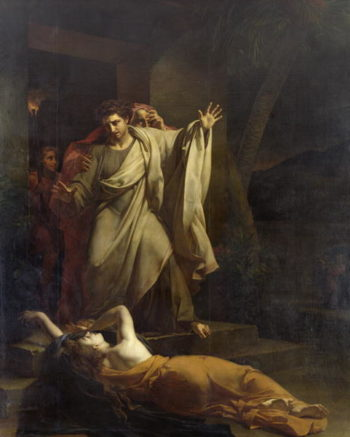 The Levite of Ephraim | Louis Charles Auguste Coude | oil painting