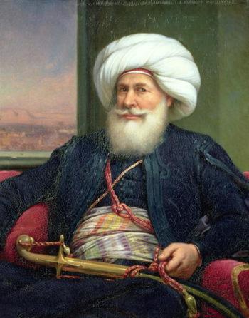 Mehemet Ali | Louis Charles Auguste Couder | oil painting