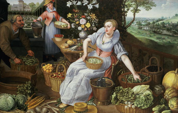 An Allegory of Summer | Lucas van Valckenborch | oil painting