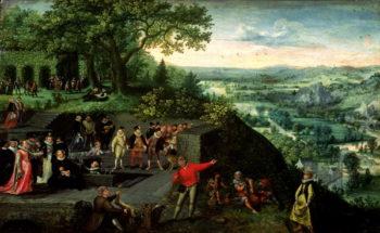 Rudolf II | Lucas van Valckenborch | oil painting