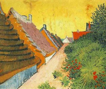 Street in Saintes-Maries | Vincent Van Gogh | oil painting