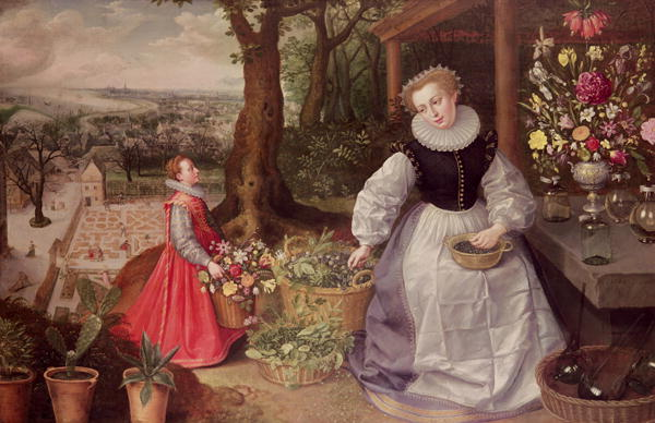 Spring 1595 | Lucas van Valckenborch | oil painting
