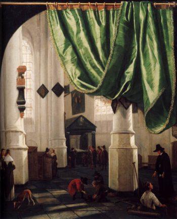 Interior of the Oude Kerk