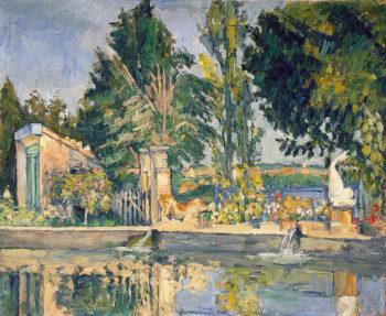 Jas de Bouffan, the Pool 1875 Cezanne Paul