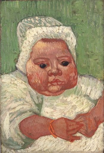 The Baby Marcelle Roulin version 2 | Vincent Van Gogh | oil painting