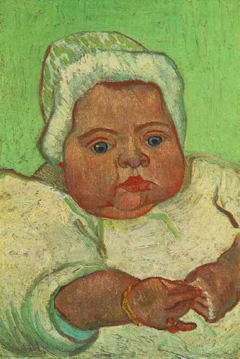 The Baby Marcelle Roulin | Vincent Van Gogh | oil painting