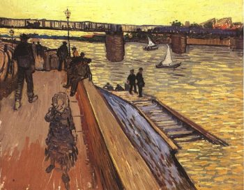 The Bridge at Trinquetaille | Vincent Van Gogh | oil painting