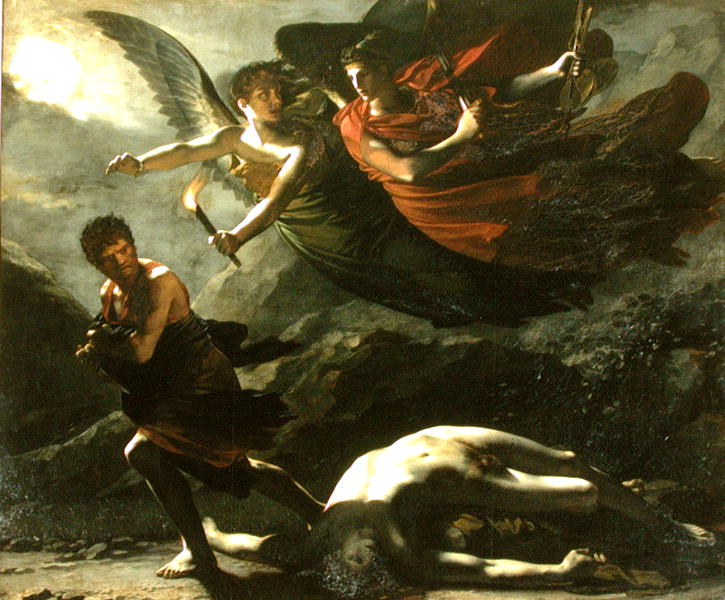 Justice and Divine Vengeance pursuing Crime 1808 | Piere-Paul Prudhon | oil painting