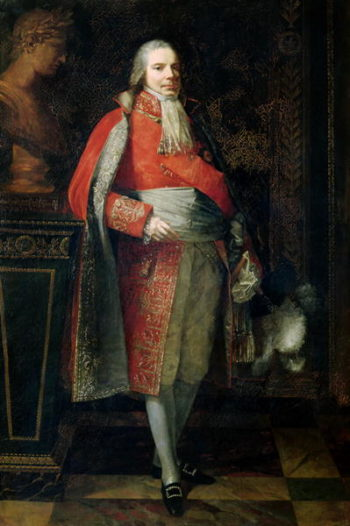 Portrait of Charles Maurice de Talleyrand Perigord | Piere-Paul Prudhon | oil painting