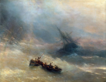 Rainbow 1873 | Ivan Konstantinovich Aivazovsky | oil painting