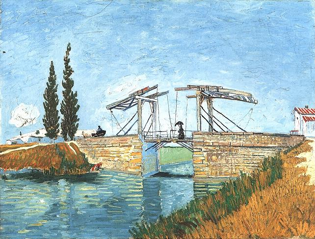 The Langlois Bridge at Arles version 2 | Vincent Van Gogh | oil painting