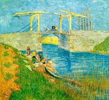The Langlois Bridge at Arles | Vincent Van Gogh | oil painting