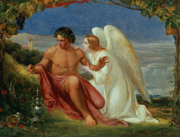 The Awakened Conscience   Richard Redgrave   oil painting