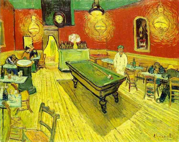 The Night Cafe in the Place Lamartine in Arles | Vincent Van Gogh | oil painting