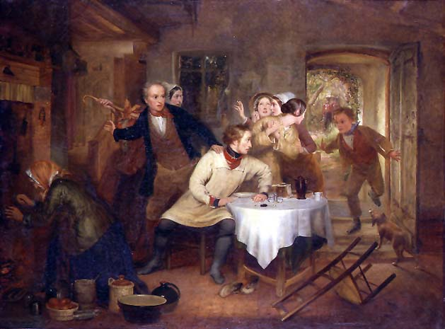 The Deserters Home | Richard Redgrave | oil painting
