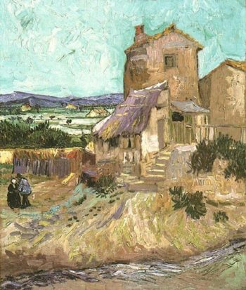 the Old Mill | Vincent Van Gogh | oil painting