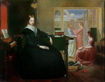 The Governess 1844 | Richard Redgrave | oil painting