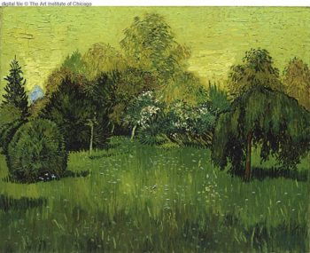The Poets Garden | Vincent Van Gogh | oil painting