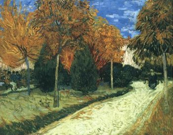 The Public Park at Arles | Vincent Van Gogh | oil painting
