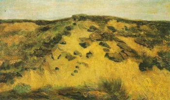 Dunes | Vincent Van Gogh | oil painting