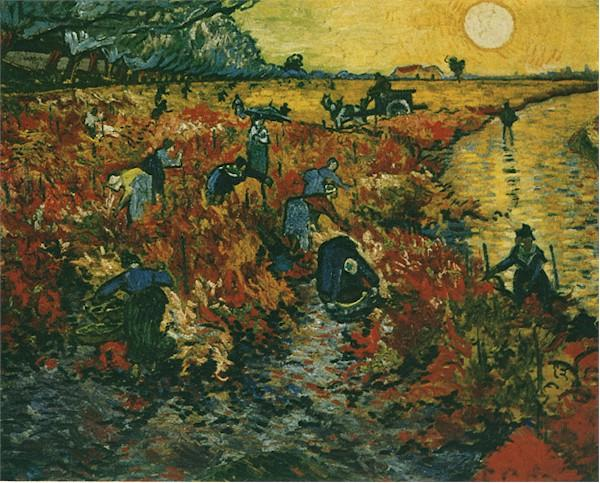 The Red Vineyard | Vincent Van Gogh | oil painting