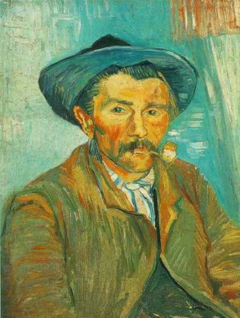 The Smoker | Vincent Van Gogh | oil painting