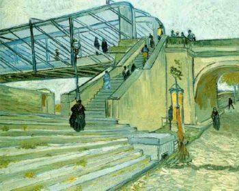 The Trinquetaille Bridge | Vincent Van Gogh | oil painting