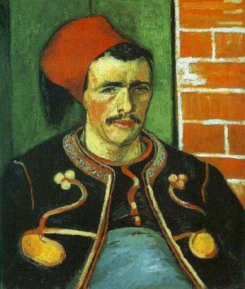 The Zouave (Half Length) | Vincent Van Gogh | oil painting