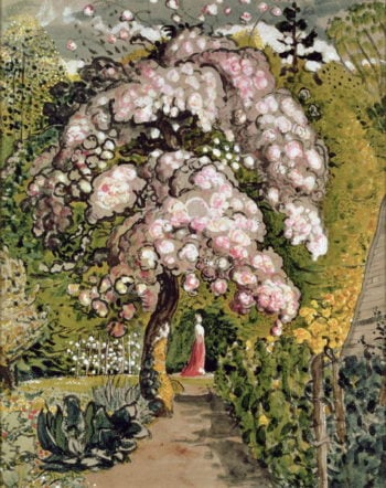 In a Shoreham Garden | Samuel Palmer | oil painting