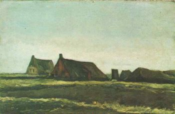 Cottages | Vincent Van Gogh | oil painting