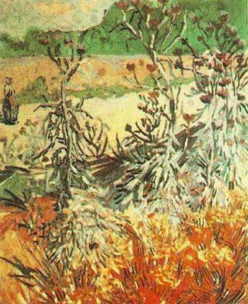 Thistles | Vincent Van Gogh | oil painting