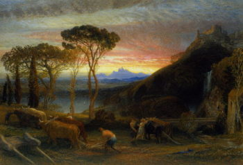 llustration to Miltons Lycidas | Samuel Palmer | oil painting
