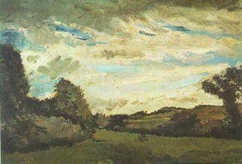 Landscape with Dunes | Vincent Van Gogh | oil painting