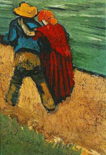 Two Lovers (Fragment) | Vincent Van Gogh | oil painting