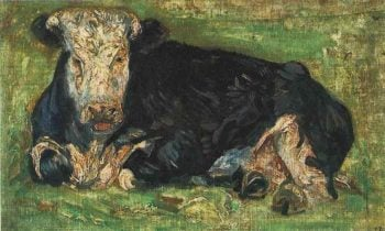 Lying Cow | Vincent Van Gogh | oil painting