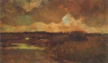 Marshy Landscape | Vincent Van Gogh | oil painting