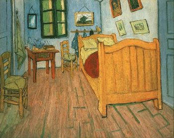 Vincents Bedroom in Arles | Vincent Van Gogh | oil painting