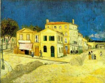 Vincents House in Arles (The Yellow House) | Vincent Van Gogh | oil painting