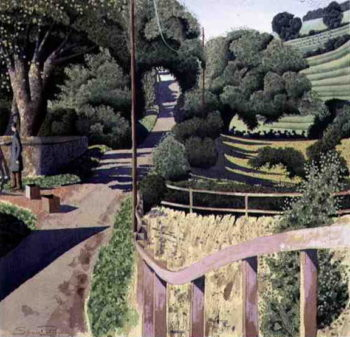 Just Left in the Composition 1996 | Simon Palmer | oil painting