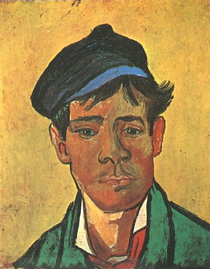 Young Man with a Cap | Vincent Van Gogh | oil painting