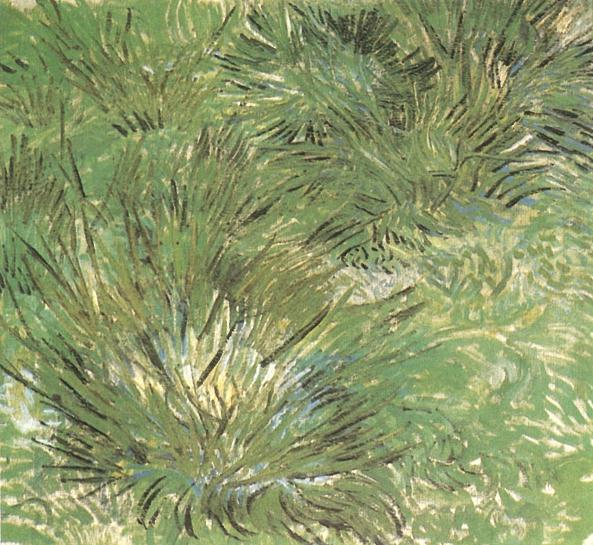 Clumps of Grass | Vincent Van Gogh | oil painting